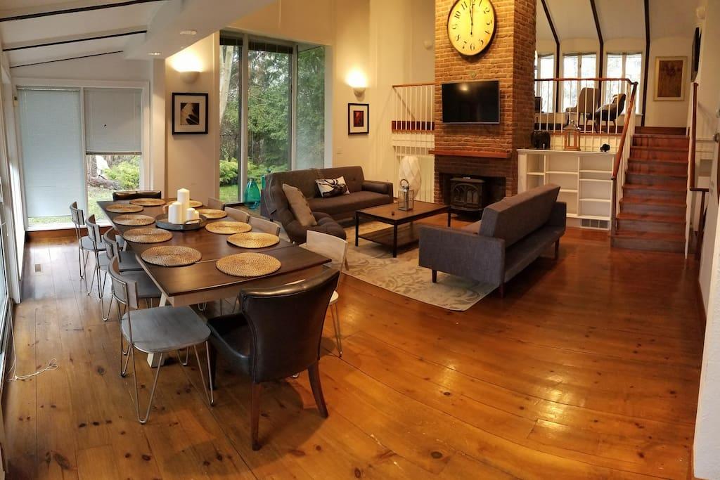 Living Room #1 + Dinning Room