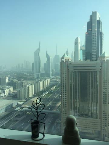Luxury 1 BR Sheikh Zayed Rd - Dubai - Wohnung