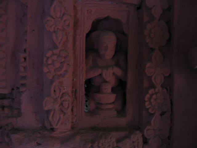 Old Terracotta Temple Art