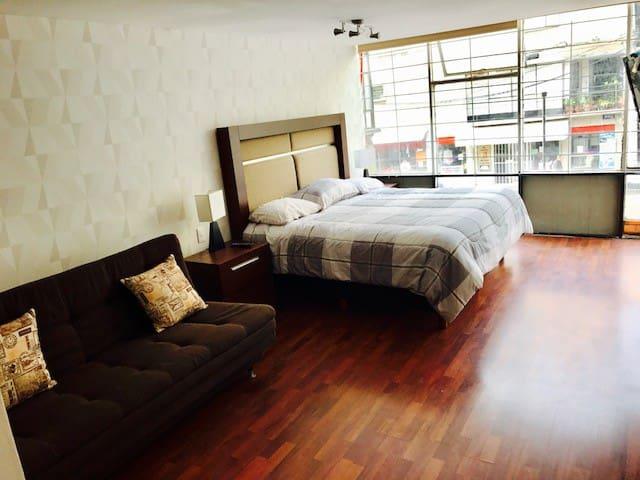 Suite (2) Reforma/Angel, excelente ubicacion