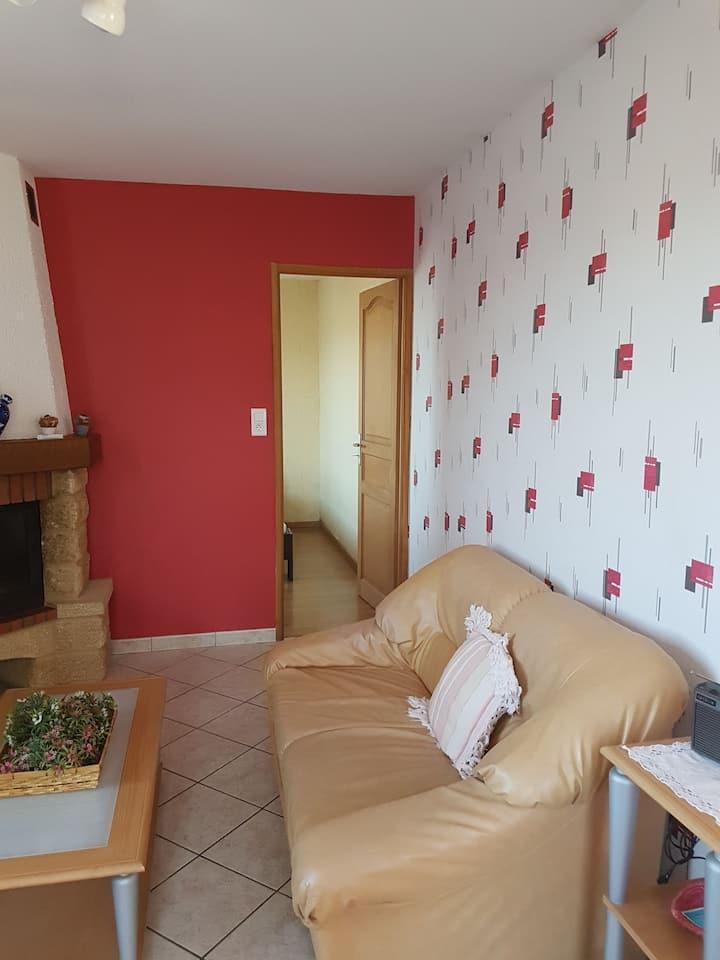 Appartement au calme, vue Pic du Midi