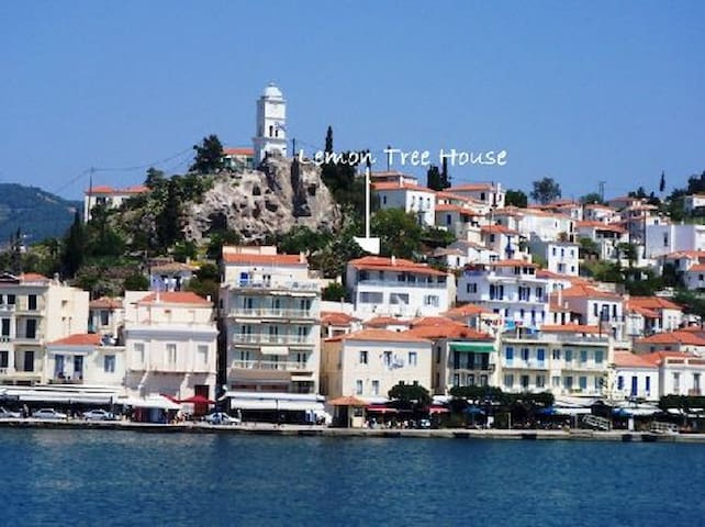 Lemon Tree House - POROS HARBOUR slps 4-6