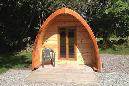 Perfect Camping Pods for 6 people