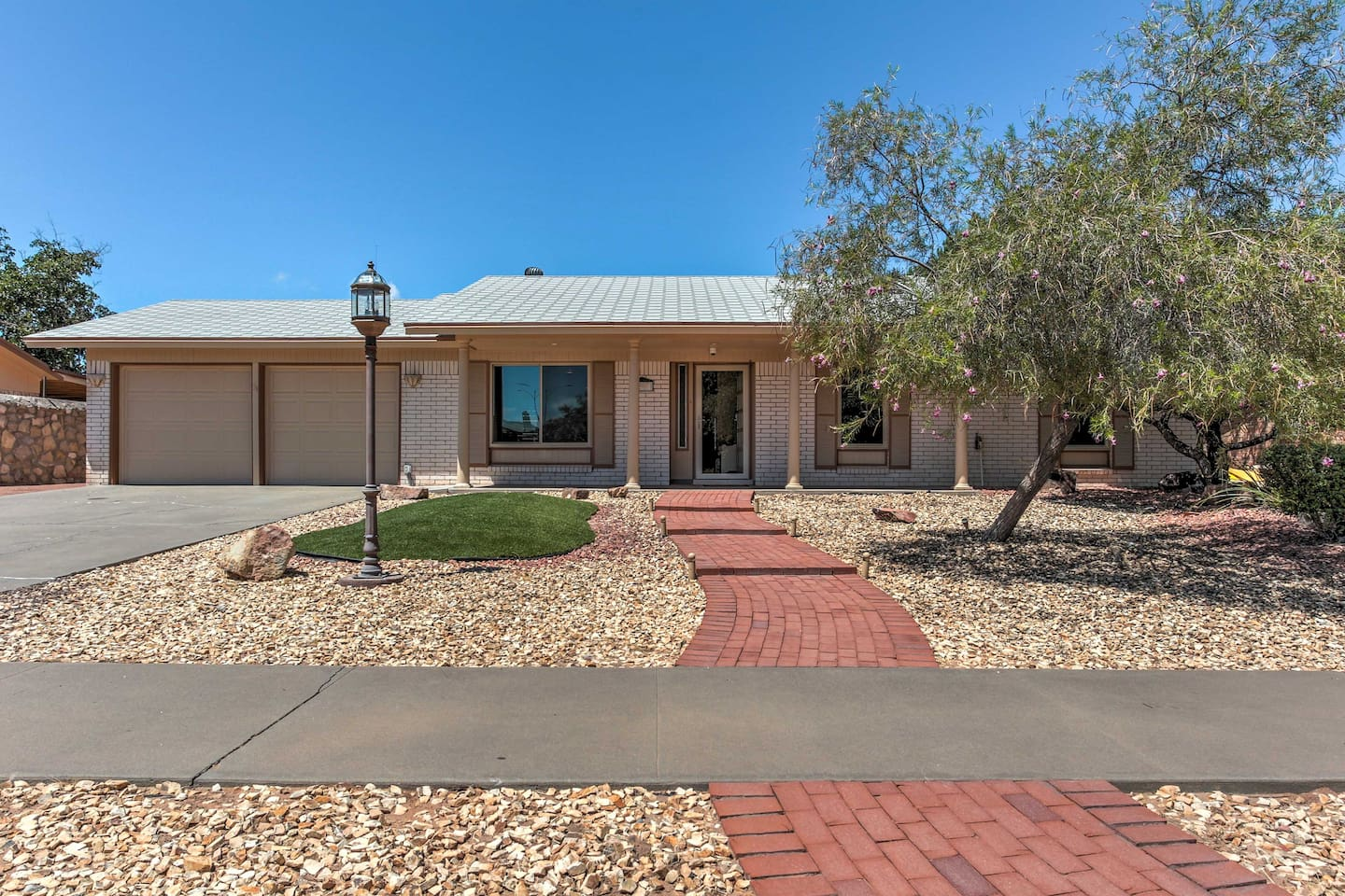 Experience the best of El Paso when you stay at this 3-bedroom, 2-bathroom vacation rental house!
