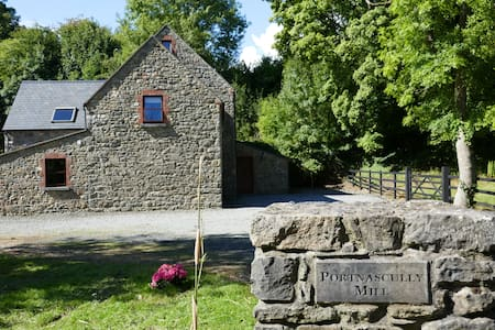Tranquil,rustic, 300 yr old mill retreat,unique - Mooncoin