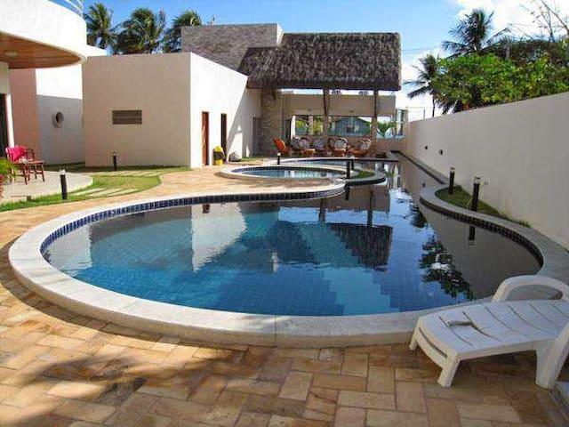 Cobertura mobiliado com Vista Mar R$ 70 por pessoa - Nísia Floresta - Appartamento