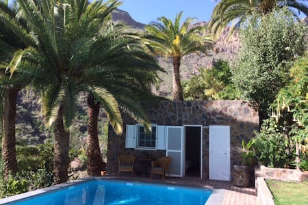 Cottage by the pool - El Sao