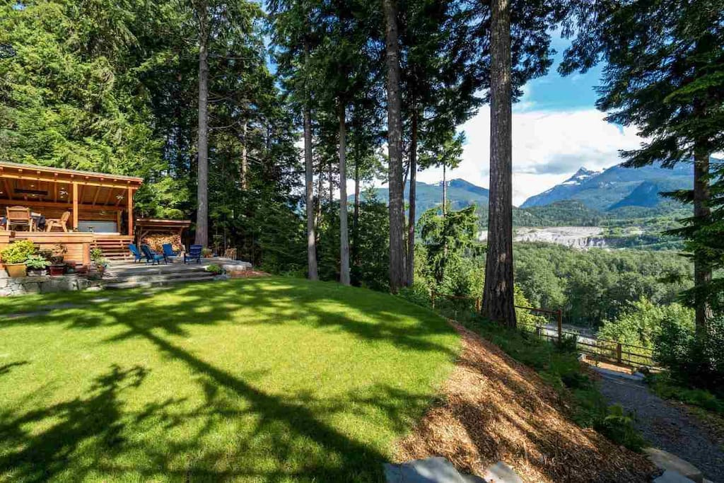 Alternate view of backyard