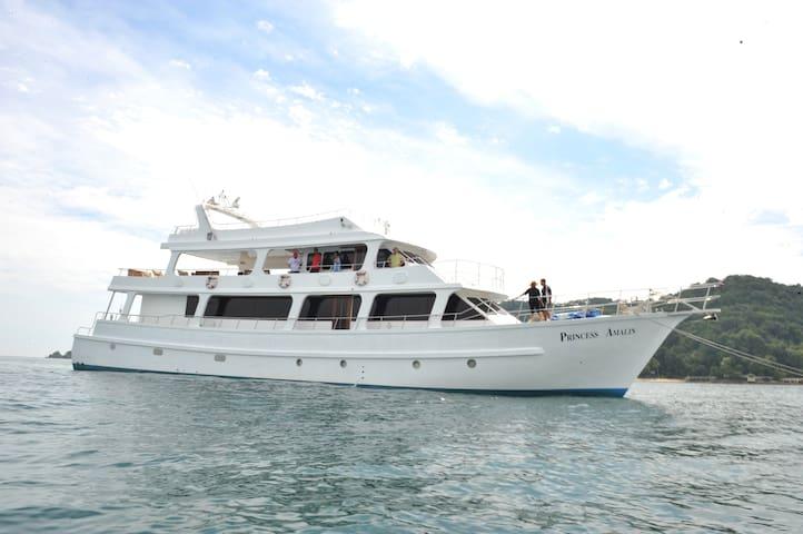 Princess amalin yacht - Klang - Vaixell