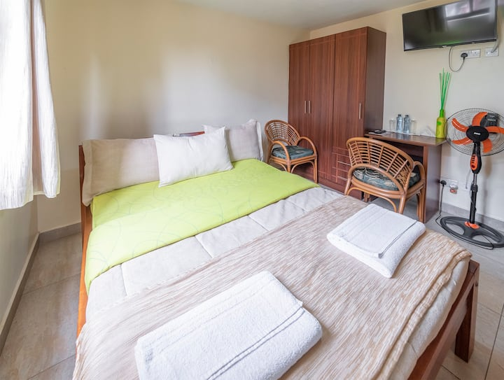 DOUBLE ROOMS AT GATEAWAY PARADISE...