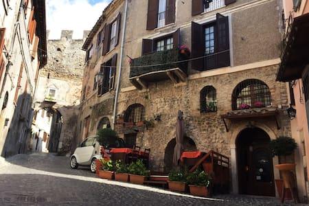 Garden flat for 2-Rome countryside! - Palombara Sabina - 公寓