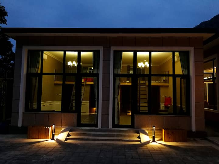 [迈阿密] 80平米,两室一厅独立厨卫,坡峰岭,房山世界地质公园,幽岚山,天开花海