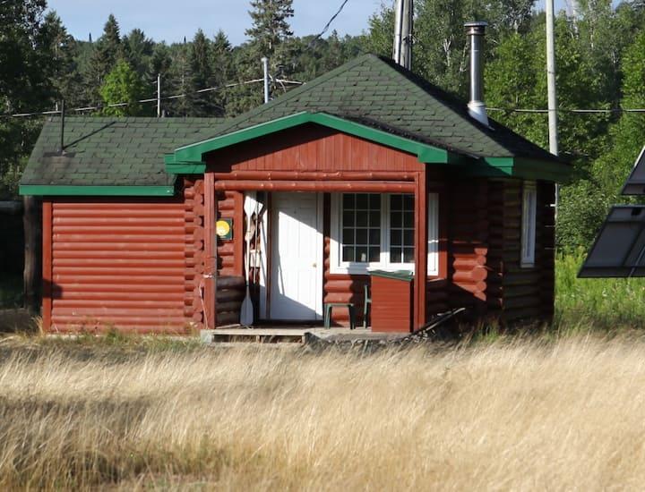 Algonquin Park Log Cabins (Winter and Summer)