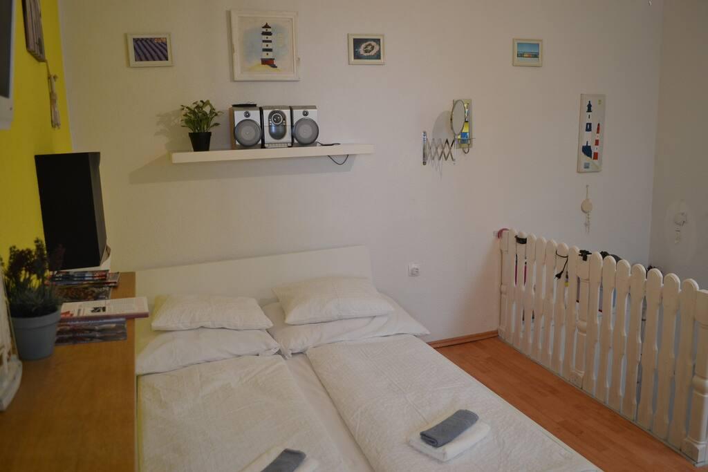 Wohnzimmer,Schlafzimmer