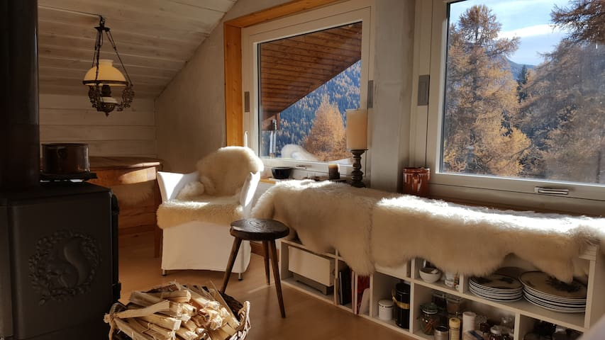 St.Moritz  - romantic mountain stay - La Punt-Chamues-ch - Appartement