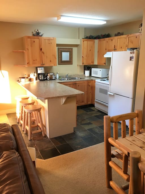 Fully equipped kitchen for your chef to enjoy