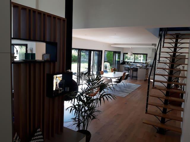 Maison moderne d'architecte Nantes Nord