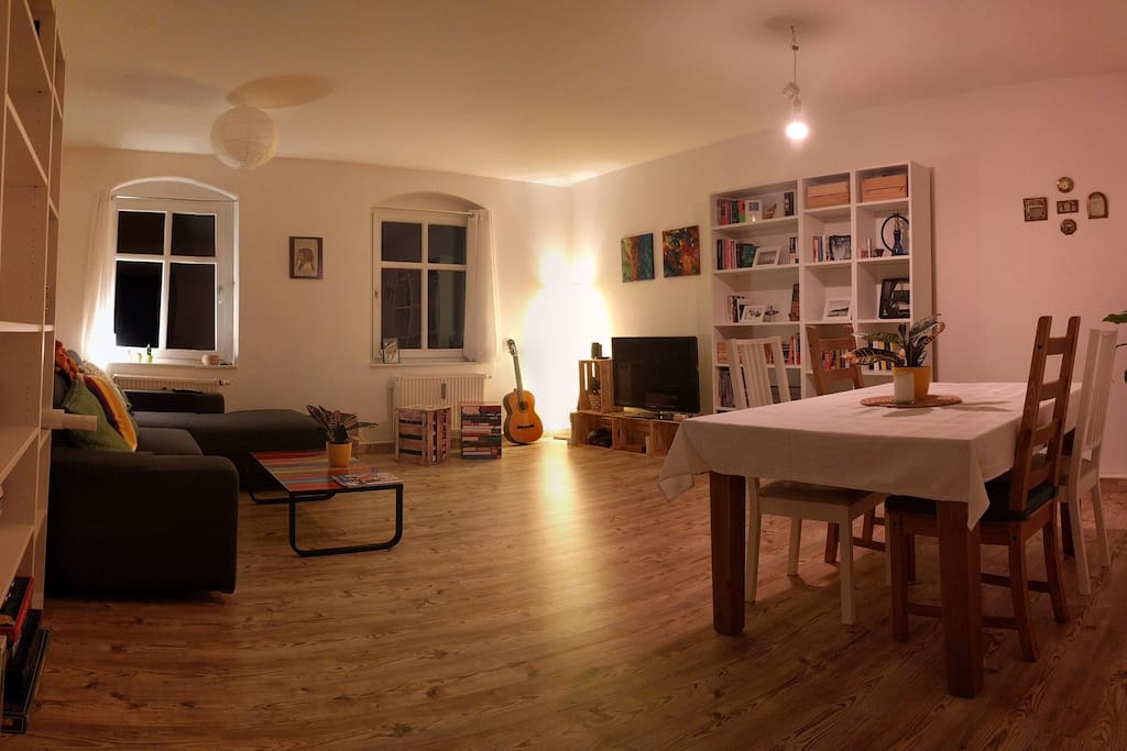Living & Dining room by night