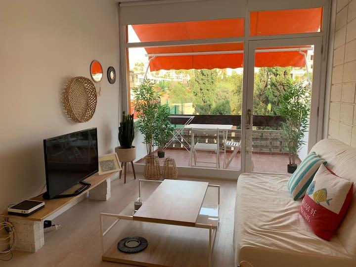Apartamento de playa renovado