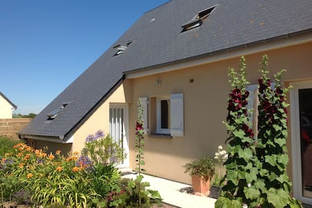 Maison au calme à 500 de la plage - Saint-Germain-sur-Ay