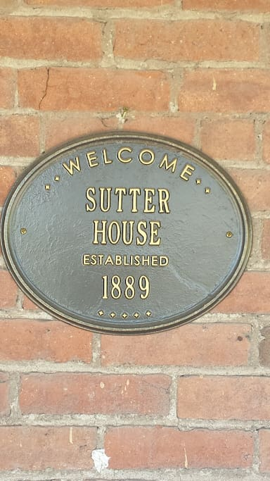 Welcome to Sutter House