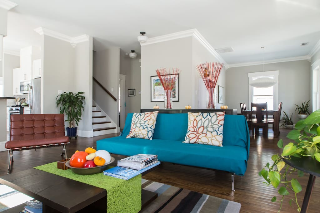Spacious living room  downstairs