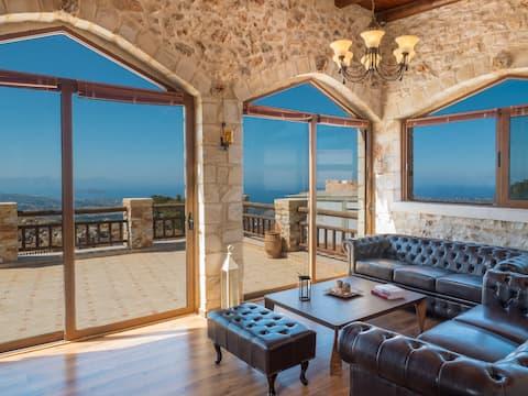 Villa Malaxa: Luxury, Private with Amazing View