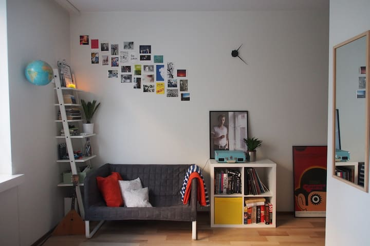 Cozy studio apartment in the center of the city - Tampere
