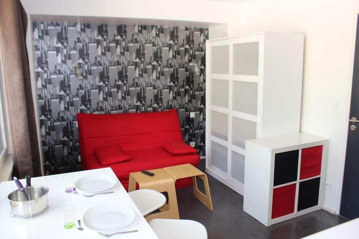 Studio meublé proche des facultés - Nantes - Appartement