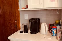 Coffee maker in the kitchen