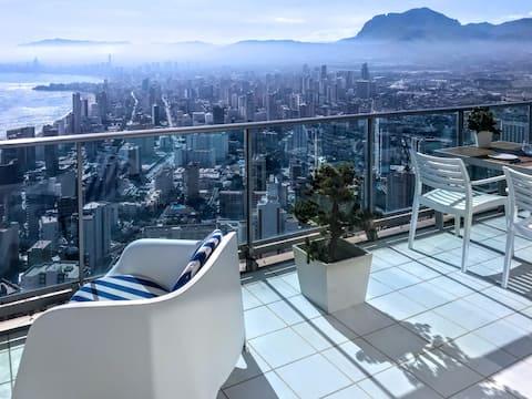 Espectacular apartamento de diseño en la planta 41