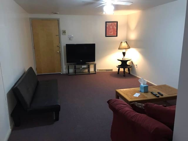 2 bedroom Downtown Cortland, NY getaway (Unit #2)