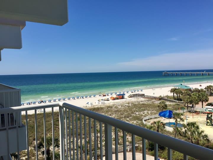 Gulf View-Beach and Bay Access-Free Beach Service!