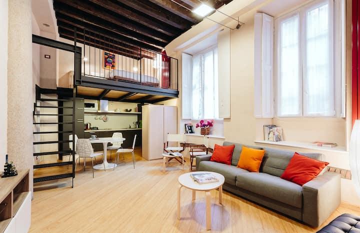 My beautiful loft in Brera