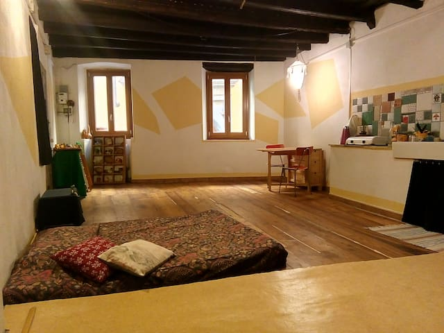 Loft a Pinerolo per viaggiatori on the road