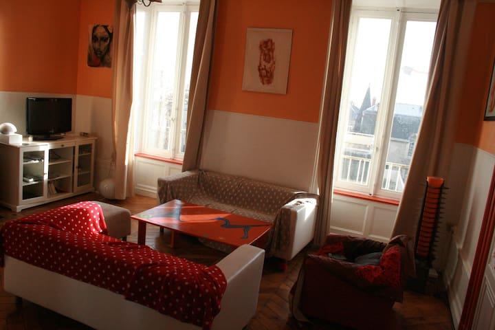 appartement 125m² coeur de clermont - Clermont-Ferrand - Leilighet
