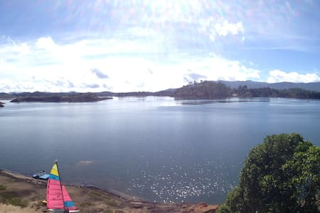 Amazing View Secluded Chalet in Guatape - El Peñol