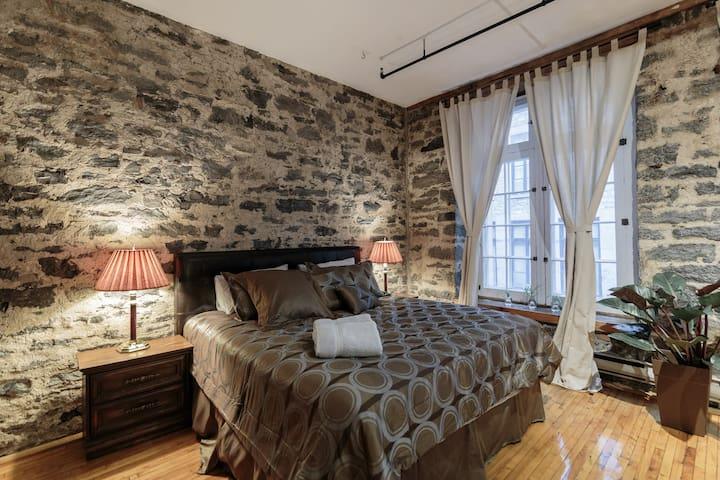 Cozy and big loft at Rue St-Pierre - Montréal - Apartment