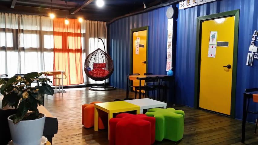 큐브하우스입니다/ [2층침대] 욕실이 같이 있는 2층침대 2인실 입니다(#2) - Namwon-eup, Seogwipo-si - Konukevi