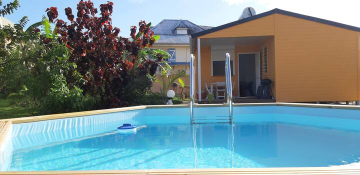 Charmant bungalow avec piscine privative