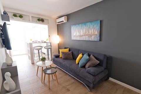 Apartamento Marina, terraza,ciudad vieja a 5 minutos en autobús