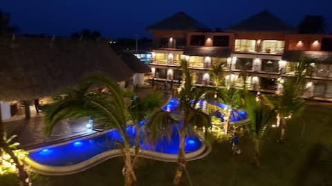 Apto luxo 3 Quartos no Villas BobZ - Barra Grande.