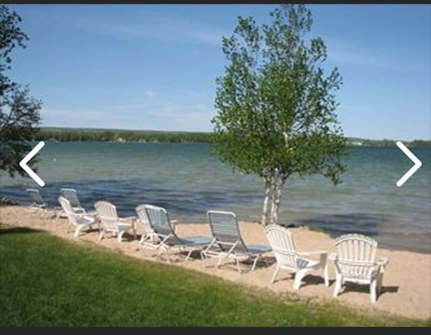 Lakefront Condo on Petoskey's Beautiful Round Lake
