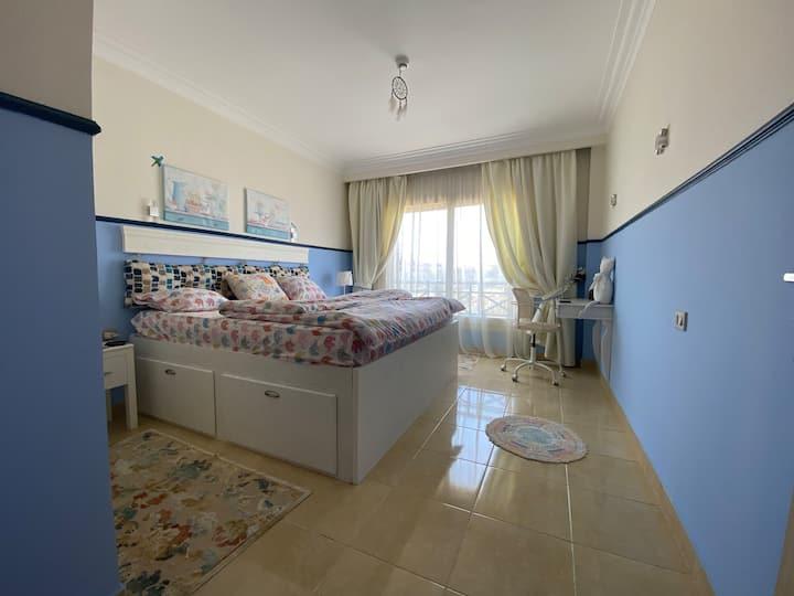 One bed room flat in Sahl Hashish