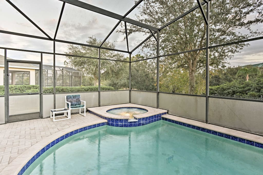 You'll have access to all the community amenities, plus a private pool, hot tub and game room!