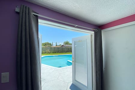 Rooms with Pool and access to most of the home!