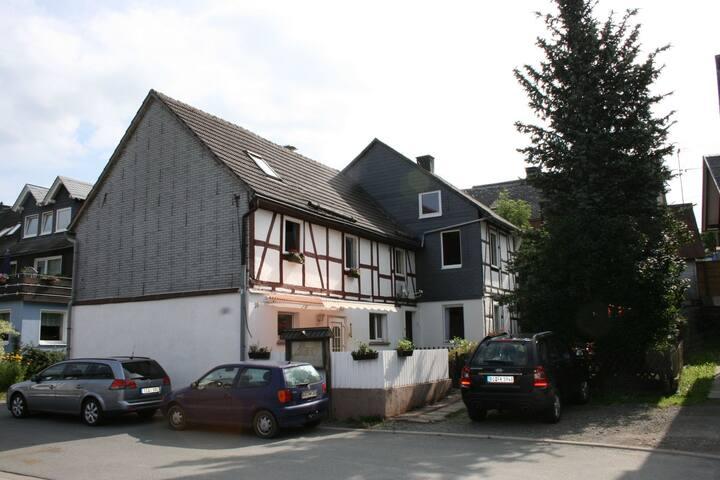 Sfeervol appartement in Sauerland op de begane grond