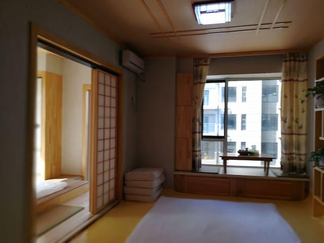 江景温泉两居室套房(有阳台可观江)