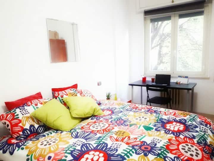Beautiful room in Pigneto