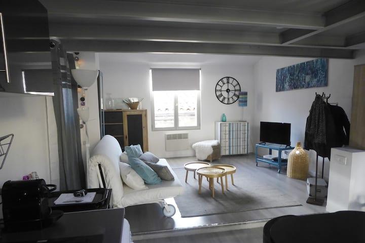 Grand Studio lumineux et calme centre ville d'Aix